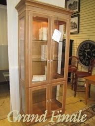 Ethan AllenCurio Cabinet, Missing Piece, Tampa 34 X 16 X 78 $348