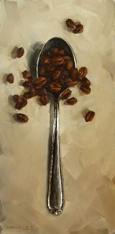 """Michael Naples. """"Spoonful of Coffee Beans"""" #CoffeeBeans"""