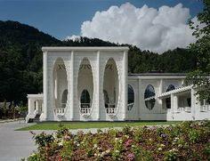 cube images: Tamina thermal baths, Bad Ragaz Switzerland