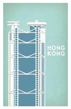 hsbc bank hong kong illustration - Google 検索