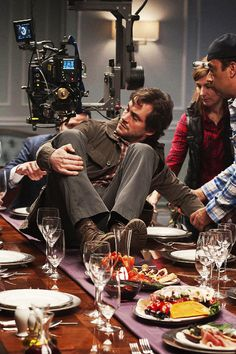 Behind the scenes of Hannibal season 2: Hugh Dancy