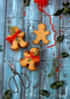 Galletas de miel y especias-Honey and spices cookies