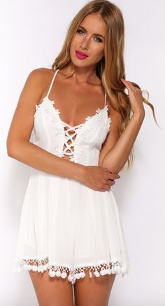 Adorable Rompers, dresses, and shoes found at http://HelloMolly.com!