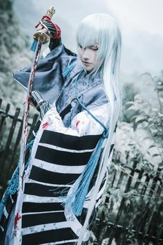 Cosplay 江雪左文字 by somei