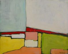Abstract Landscape Study by Sarah Trundle, $550