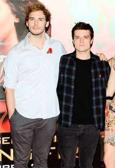 Sam and Josh (Finnick and Peeta).