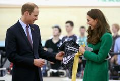 12 April 2014 - Day 6  Prince William and  Catherine, Duchess of Cambridge  visited Hamilton and Cambridge