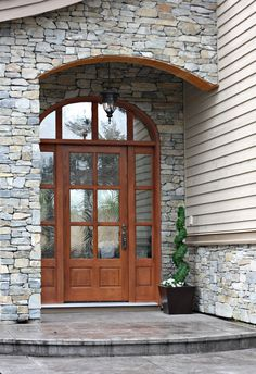 Custom wood door with glass – Your preferred type of wood will ride on your design requirements. As a result of their use, the wood will get shine and a lovely patina pattern. It's especially noticeable when using solid wood or… Continue Reading → Buy Front Door, Double Front Doors, Front Door Entrance, Glass Front Door, Entry Doors, Glass Door, Entrance Ideas, Door Ideas, Custom Wood Doors