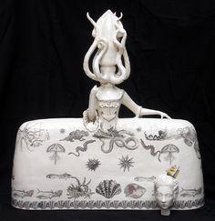 Kraken - 2011 | Claire Partington - Contemporary Ceramic Sculpture, Contemporary Ceramic Art, London