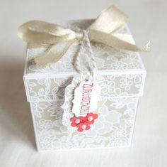 Papierkram: Hochzeitsbox