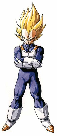 Vegeta from Dragon Ball. Akira Toriyama created an incredible character that I will never forget in Prince Vegeta