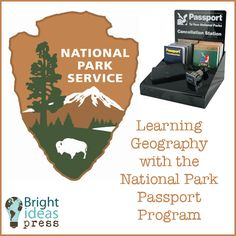 Geography with the National Park Passport Program Learning Geography with the National Park Passport ProgramLearning Geography with the National Park Passport Program Teaching Geography, World Geography, National Park Passport, National Parks, Service Learning, Home Schooling, Just In Case, Homeschooling Resources, Homeschool Curriculum
