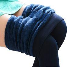 Mollad 2016 NOVA além disso cashmere leggings mulheres meninas Casual Inverno…