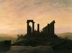 Friedrich, Caspar David: Junotempel in Agrigent - Zeno.org