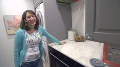 Mother Of Six Built What Is Quite Possibly The Coolest Laundry Room Ever…For Only $400