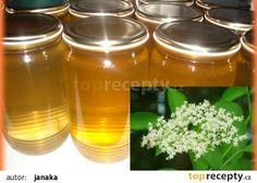 Med z květů lípy Smoothie, Mason Jars, Honey, Homemade, Food, Cooking, Lemon, Syrup, Home Made