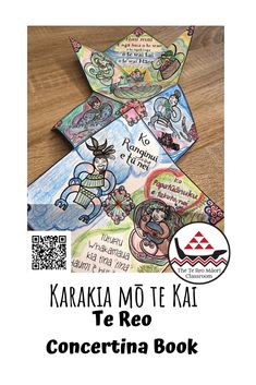 This Karakia mō te Kai concertina book is a fun way to learn, illustrate and doodle on. Children and parents can do this activity together.