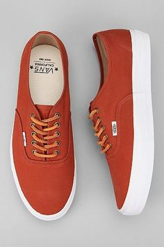 Vans Brushed Twill Authentic Sneaker - Urban Outfitters- Svpply