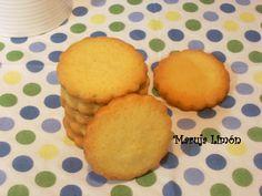 Galletas de mantequilla y queso crema
