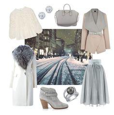 """Snowflake"" by molnar-eszter on Polyvore featuring Diane Von Furstenberg, Oasis, rag & bone, Burberry, Givenchy and Kobelli"