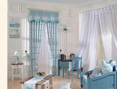 Детская комната шторы, шторы розовые шторы в форме сердца и синий шторы для окна, принадлежащий категории Шторы и относящийся к Для дома и сада на сайте AliExpress.com   Alibaba Group