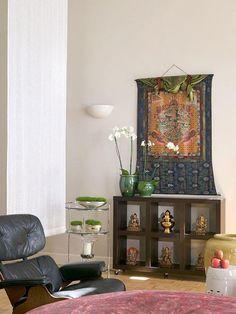 asian decor - living room idea!