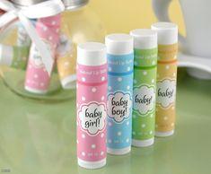 Lip Balm Favors |Unique Favors | Baby Shower Favors