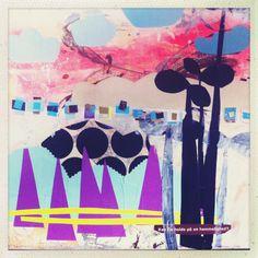 Akryl / collage