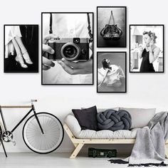 """""""Vintage Camera Girl Fashion Kitchen Calls Nordic Posters And Prints Wall Art Canvas Painting Wall Pictures For Living Room Decor"""" Living Room Pictures, Wall Pictures, Canvas Wall Art, Wall Art Prints, Kitchen Wall Art, Vintage Wall Art, Picture Wall, Living Room Decor, Wall Decor"""