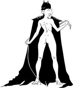 Catwoman + Batman by BrigidAllanson.deviantart.com