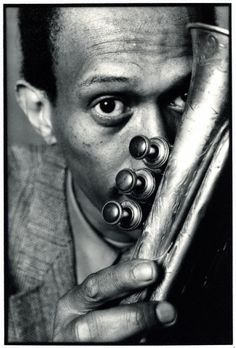 Don Cherry (1936-1995) - American jazz trumpeter. Photo by Deborah Feingold, 1982