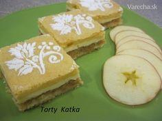 Jablkový tvarožník (fotorecept) - Recept