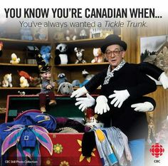 Mr Dress-Up.I seen him live in gr of my favorite childhood shows Canadian Memes, Canadian Things, I Am Canadian, Canada For Kids, Canada 150, Kids Shows, Tv Shows, Meanwhile In Canada, Cool Countries