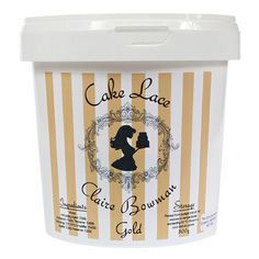 Cake Lace Pre Mix GOLD 500g - by Claire Bowman