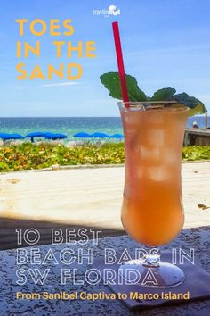 USA - If you're planning a visit to Southwest Florida, you'll want to find the best beach bars here -- the ones that are actually ON the beach, with just the right vibe to match your tropical vacation! | Fort Myers beach bars, beach bars in Naples, Sanibel beach bars, bars on Captiva island, Casa Ybel Resort, Sundial Beach Resort & Spa, Capri Fish House, Doc's Beach House, Marco Island bars, Naples Beach Hotel and Golf Club, Ritz Carlton Naples Beach Resort, The Mucky Duck, #Florida #SWFL