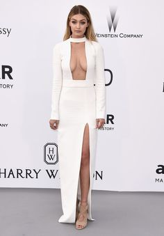 Gigi Hadid   Voilà ce que les stars ont porté au gala de l'AmfAR à Cannes