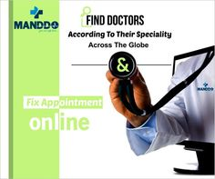Manddo- Fix Appointment Online with Doctors. You can find specialist doctors at your fingertips & fix an appointment on the go. No more waiting in the Queue to see your doctor!
