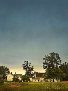 Farmhouse © digital image by Mary Baker