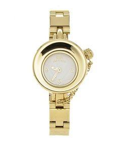 John Galliano Reloj de Cuarzo Los Iconist Galliano Dorado 32 mm