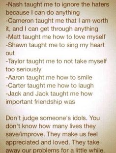 They have taught this........@Nash Grier Grier & @Cameron Dallas  @Shawn Mendes @Taylor Caniff  @Aaron Carpenter @Jack Gilinsky @Matthew Espinosa