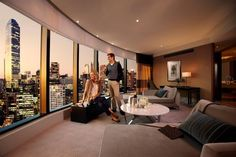 Crown Towers Hotel Melbourne #Luxury #Melbourne