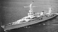 The USS Houston in October 1935