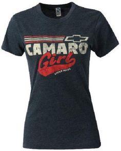 Ladies Camaro T Shirt Blue Camaro Girl Chevy Pride s XL 22 00 2XL New