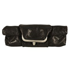 Mimi in Memphis Barbi Framed Clutch Color: Brown Memphis, Leather Bag, Belt, Purses, Wallet, My Style, Brown, Accessories, Black