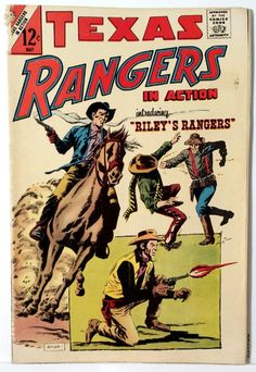 Vintage Comics / Texas Rangers