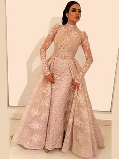 Glamorous Long Sleeve Prom Dresses 2019 Lace Evening Gowns With Ruffles Item Code: Hijab Evening Dress, Hijab Dress Party, Lace Evening Gowns, Evening Gown With Sleeves, Prom Dresses Long With Sleeves, Homecoming Dresses, Quinceanera Dresses, Dress Prom, Formal Dress