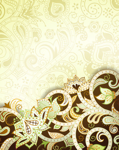 Vintage decorative pattern background graphics vector 03 - Vector Background free download