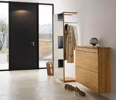 meuble d'entrée moderne suspendu et armoire unique