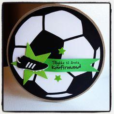 Fodbold kort ⚽ Soccer Cards, Football Cards, Cardmaking, Scrapbooking, Crafts, Diy, Inspiration, Handarbeit, Easy Cards