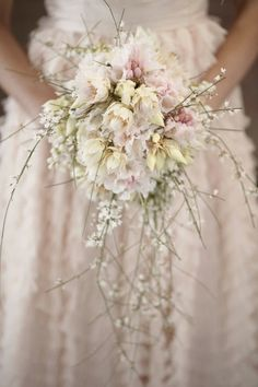 Blush Pink, Romantic & Whimsical Wedding Inspiration Shoot